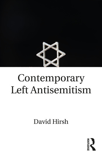 Contemporary Left Antisemitism book cover