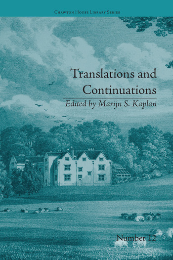 Translations and Continuations Riccoboni and Brooke, Graffigny and Roberts book cover