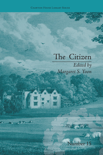 The Citizen by Ann Gomersall book cover