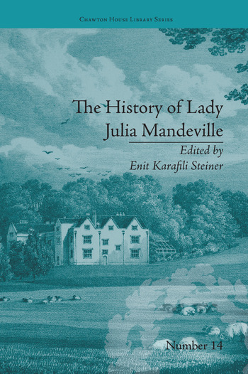The History of Lady Julia Mandeville by Frances Brooke book cover