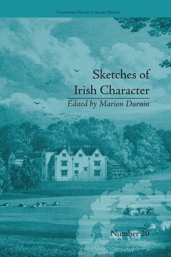 Sketches of Irish Character by Mrs S C Hall book cover