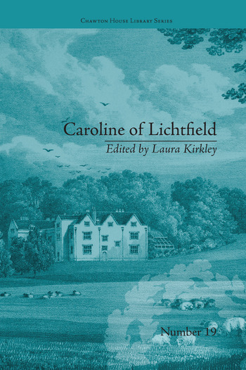 Caroline of Lichtfield by Isabelle de Montolieu book cover