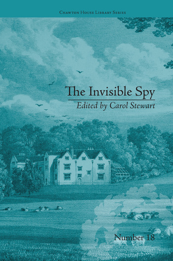 The Invisible Spy by Eliza Haywood book cover