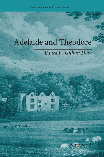 Adelaide and Theodore by Stephanie-Felicite De Genlis book cover