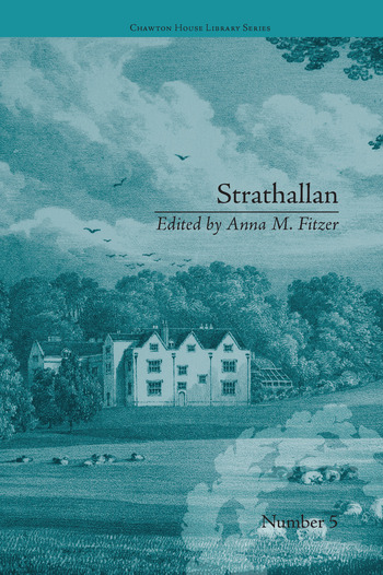 Strathallan by Alicia LeFanu book cover