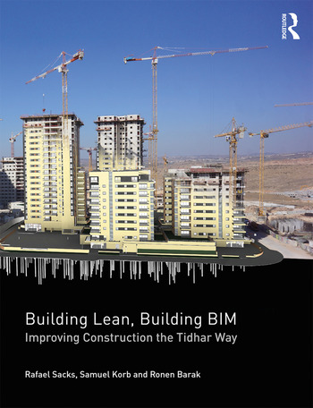 Building Lean, Building BIM Improving Construction the Tidhar Way book cover