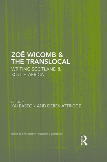 Zoë Wicomb & the Translocal Writing Scotland & South Africa book cover