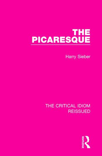 The Picaresque book cover