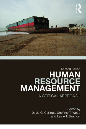 Human Resource Management A Critical Approach book cover