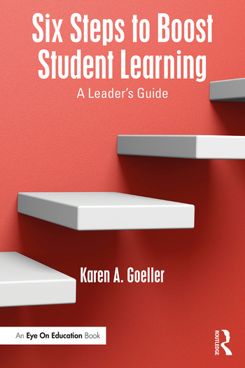 Six Steps to Boost Student Learning A Leader's Guide book cover