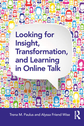 Looking for Insight, Transformation, and Learning in Online Talk book cover