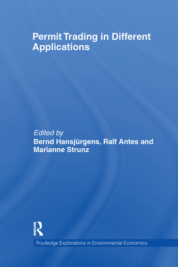 Permit Trading in Different Applications book cover