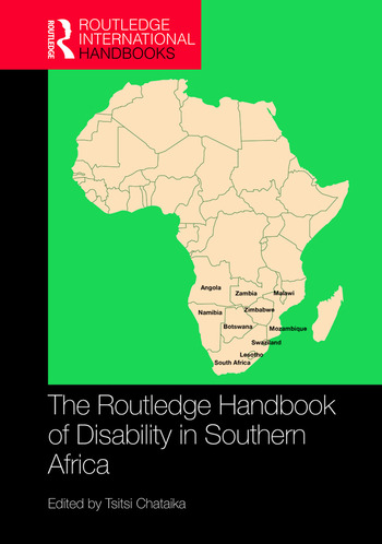 The Routledge Handbook of Disability in Southern Africa book cover
