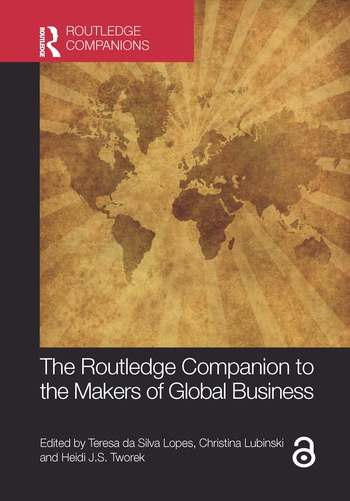 The Routledge Companion to the Makers of Global Business book cover