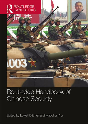 Routledge Handbook of Chinese Security book cover