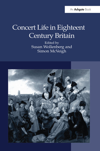 Concert Life in Eighteenth-Century Britain book cover