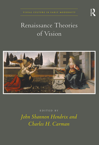 Renaissance Theories of Vision book cover