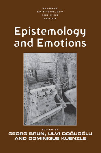 Epistemology and Emotions book cover