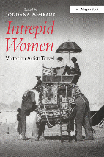 Intrepid Women Victorian Artists Travel book cover
