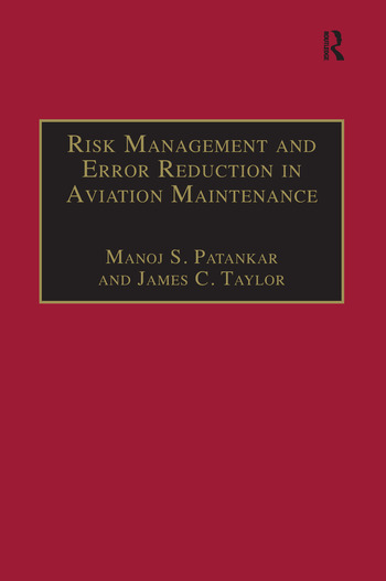 Risk Management and Error Reduction in Aviation Maintenance book cover