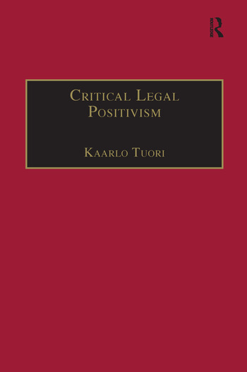 Critical Legal Positivism book cover