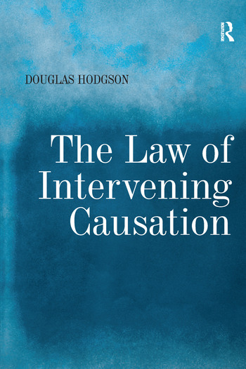 The Law of Intervening Causation book cover