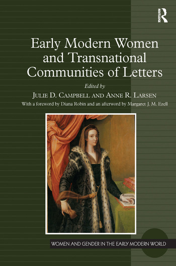 Early Modern Women and Transnational Communities of Letters book cover