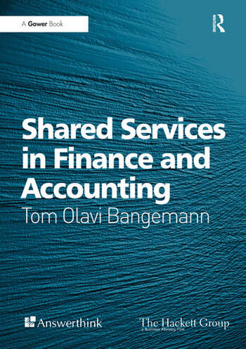 Shared Services in Finance and Accounting book cover
