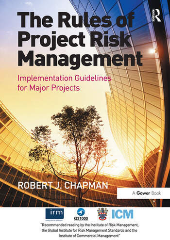 The Rules of Project Risk Management Implementation Guidelines for Major Projects book cover
