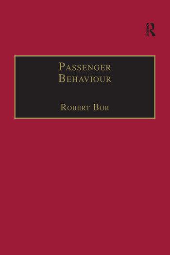 Passenger Behaviour book cover