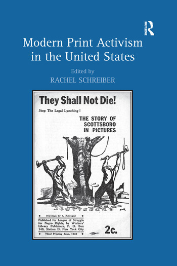 Modern Print Activism in the United States book cover