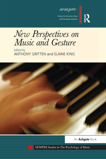 New Perspectives on Music and Gesture book cover