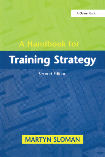 A Handbook for Training Strategy book cover
