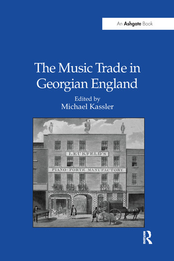 The Music Trade in Georgian England book cover