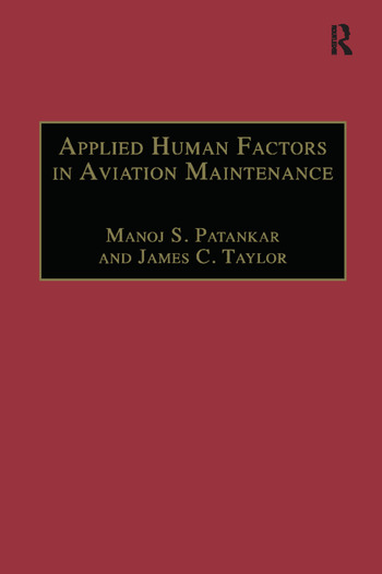 Applied Human Factors in Aviation Maintenance book cover