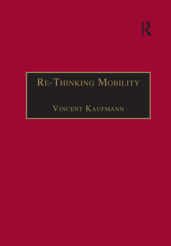 Re-Thinking Mobility Contemporary Sociology book cover
