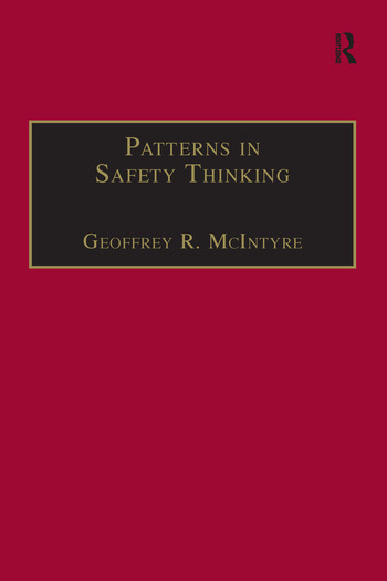 Patterns In Safety Thinking A Literature Guide to Air Transportation Safety book cover