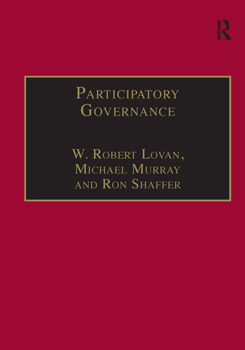 Participatory Governance Planning, Conflict Mediation and Public Decision-Making in Civil Society book cover