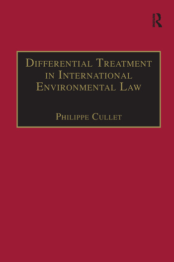 Differential Treatment in International Environmental Law book cover