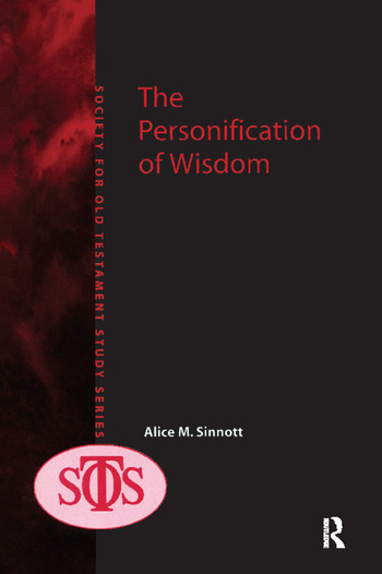 The Personification of Wisdom book cover