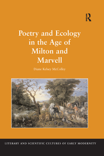 Poetry and Ecology in the Age of Milton and Marvell book cover