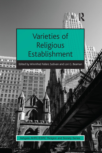 Varieties of Religious Establishment book cover