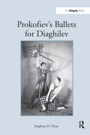 Prokofiev's Ballets for Diaghilev book cover