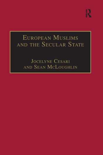 European Muslims and the Secular State book cover