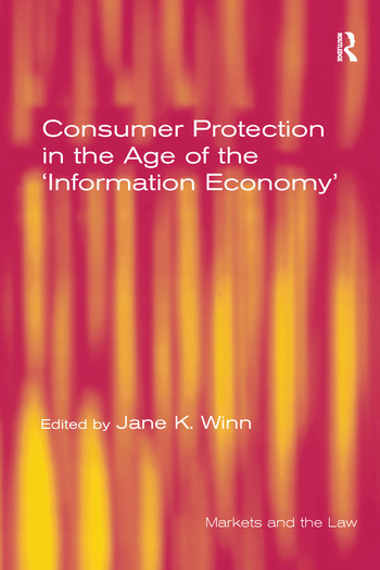 Consumer Protection in the Age of the 'Information Economy' book cover