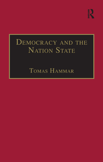 Democracy and the Nation State book cover