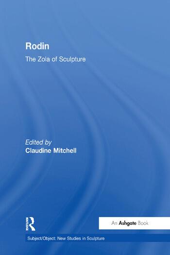 Rodin The Zola of Sculpture book cover