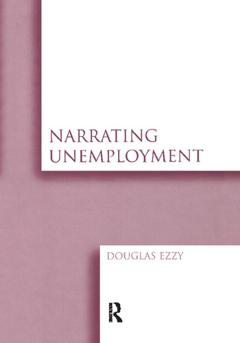 Narrating Unemployment book cover