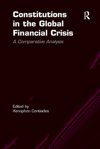 Constitutions in the Global Financial Crisis A Comparative Analysis book cover