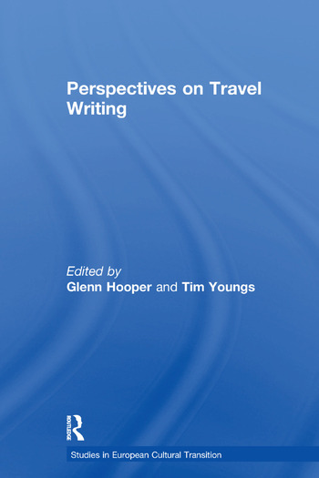 Perspectives on Travel Writing book cover